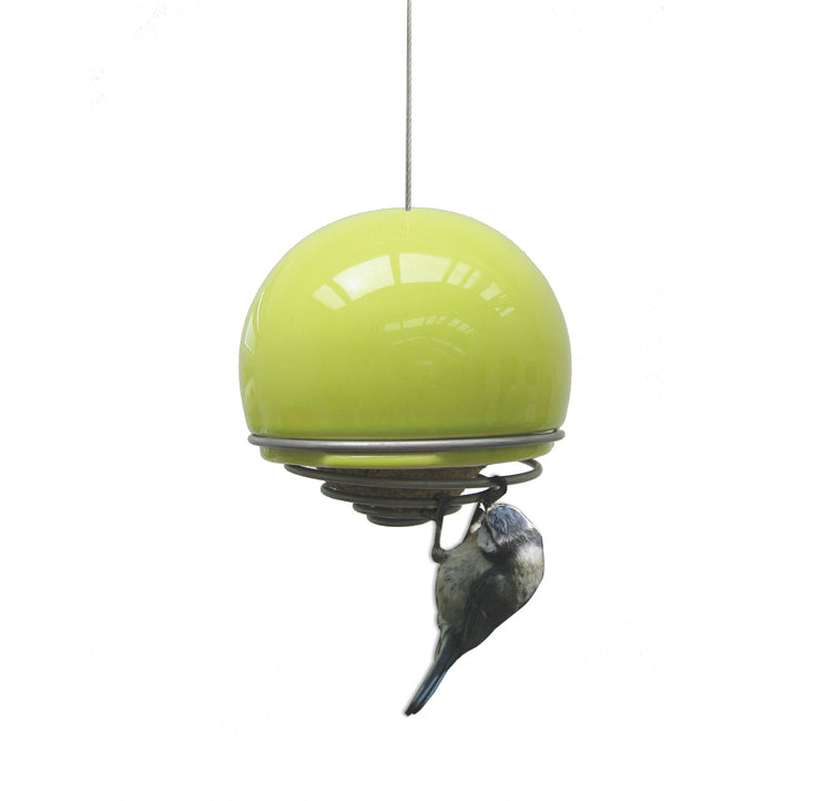 BirdBall Belle Bird Feeders - Bird Gift - Lime