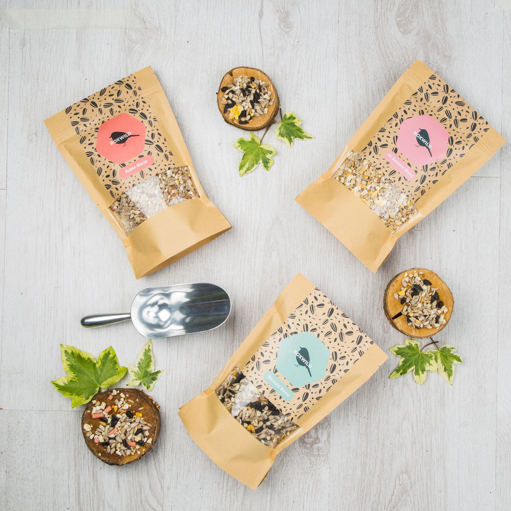 Vegetarian gift idea - bird seed