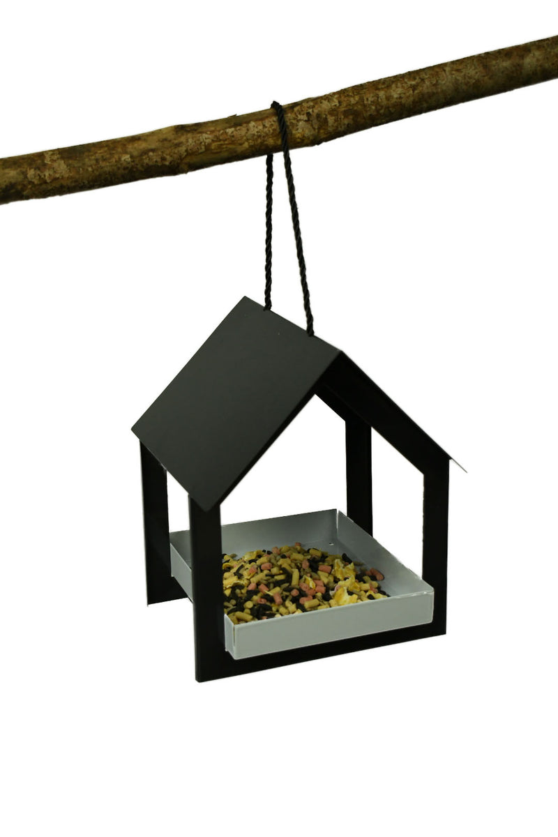 Father's Day personalised bird seed and bird feeder