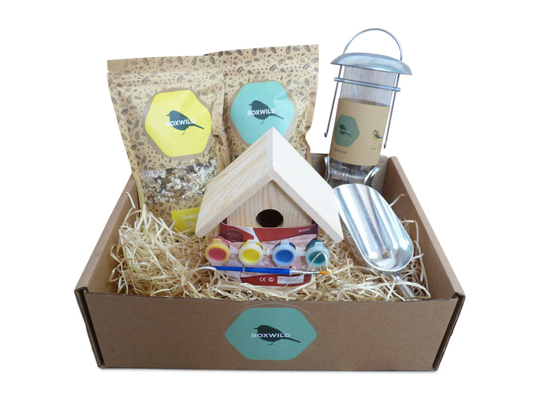 children's bird gift box