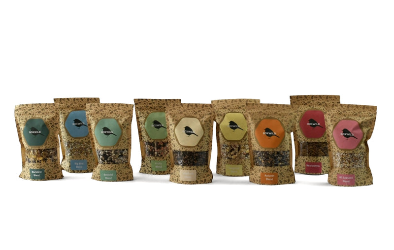 Boxwild Seed Blends - bird seed gift