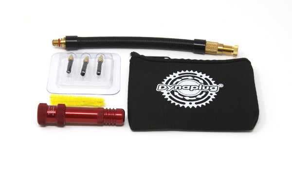Dynaplug® Air - Tubeless Bicycle Tire Repair Kit  incl. 2x 16g CO2 +Adapter