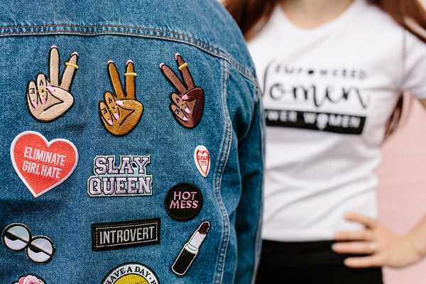 GIRL GANG PATCH TRIO