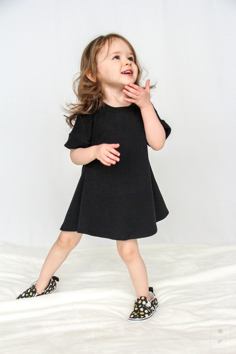 The Little M Dress | Black
