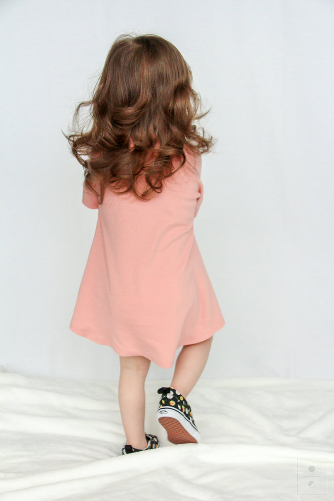 The Little M Dress | Dusty Rose
