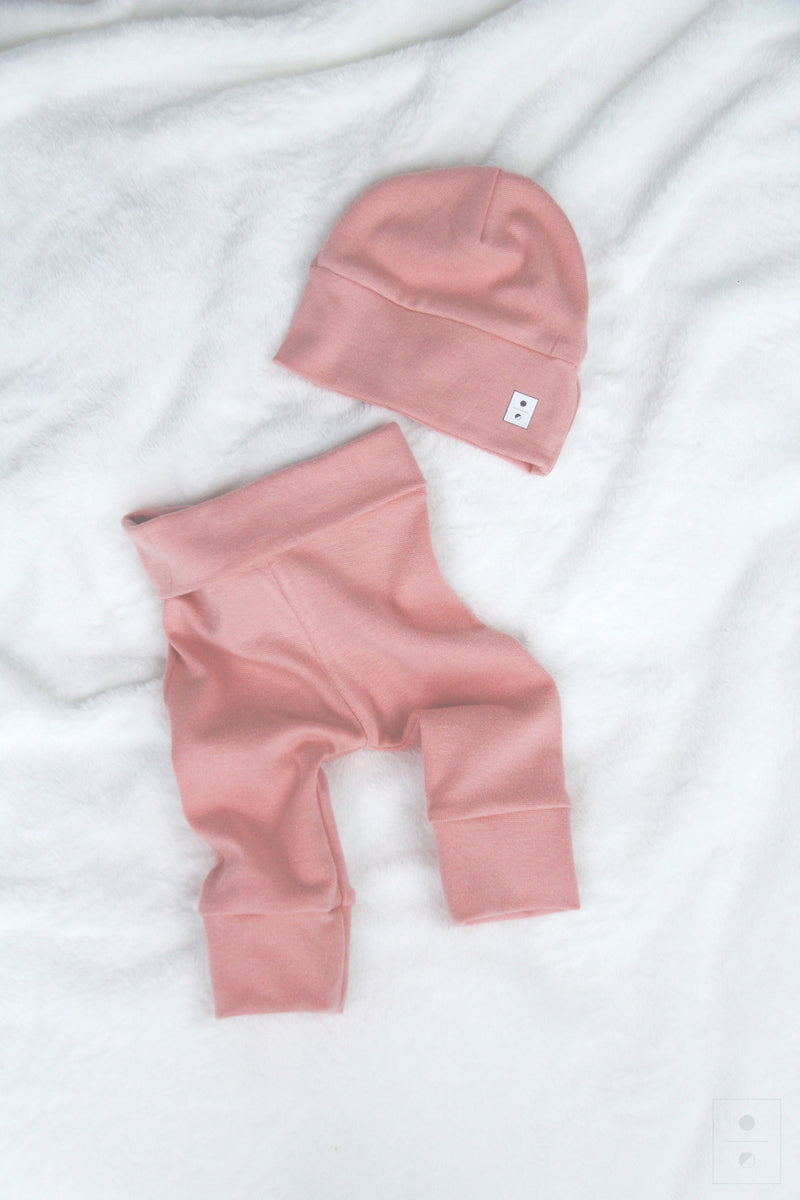 Baby Kit 2 piece Gift Set | Dusty Rose