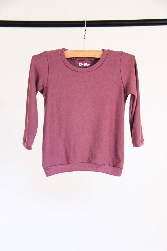 Bodie Pullover | Deep Currant