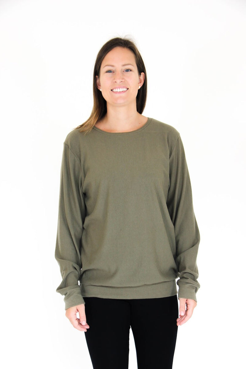 Classic Oversized Pullover | Sage