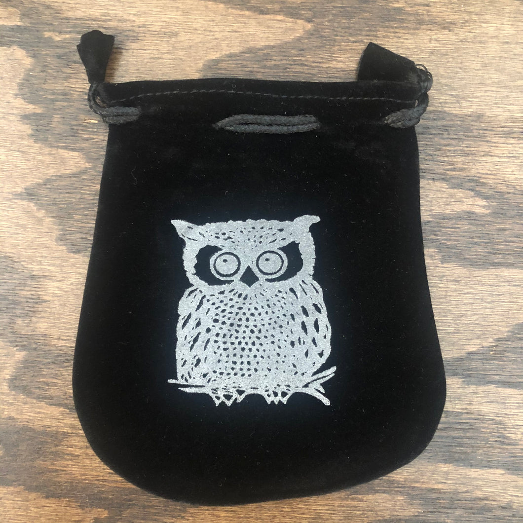 Copy of Velvet Pouch (Owl)