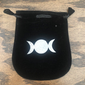 Velvet Pouch (Triple Moon)