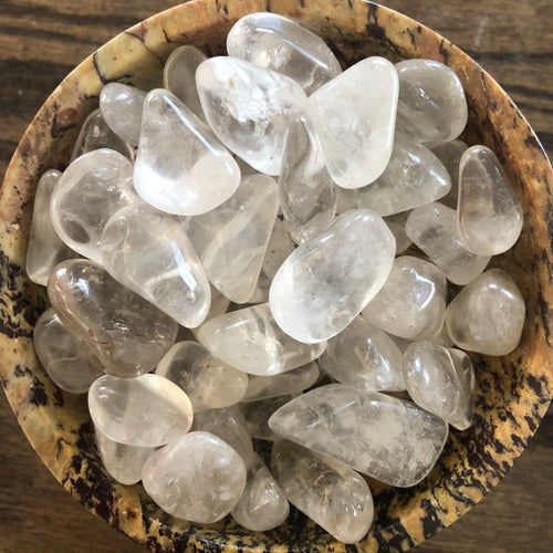 Clear Quartz Tumbled Stone