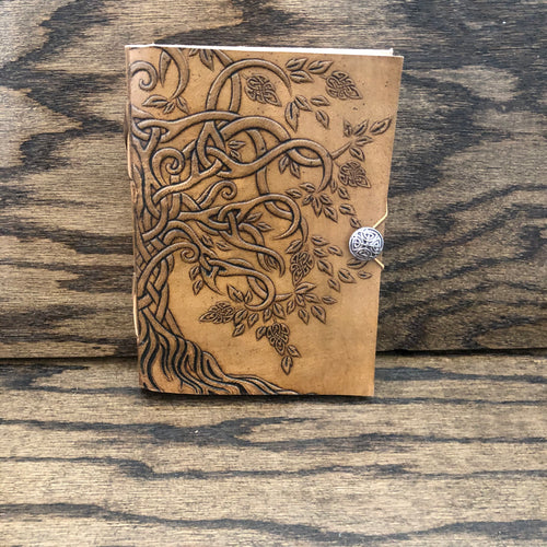Leather Bound Journal (Tree)