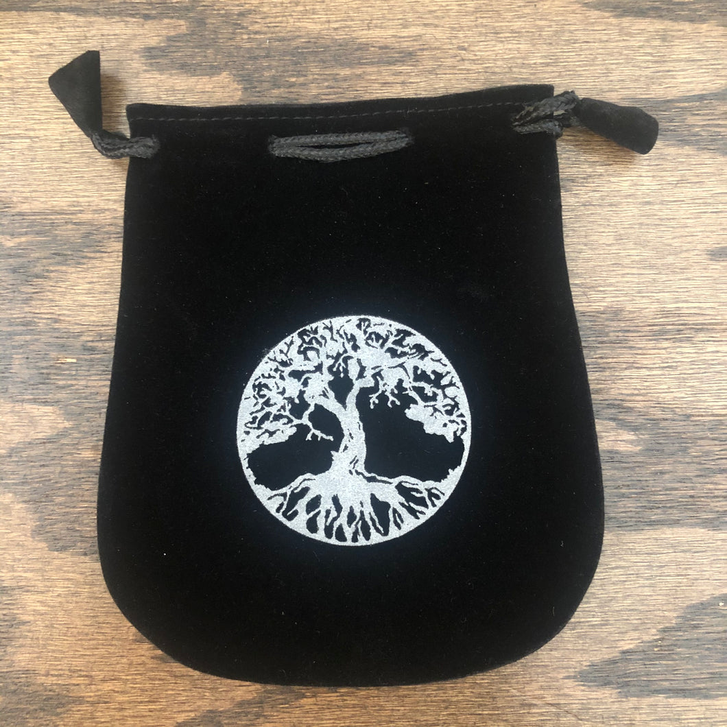 Velvet Pouch (Tree of Life)