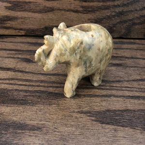 Elephant Soapstone Incense Burner (Smaller)