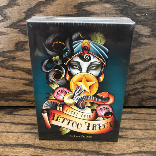 Eight Coins Tattoo Tarot Deck