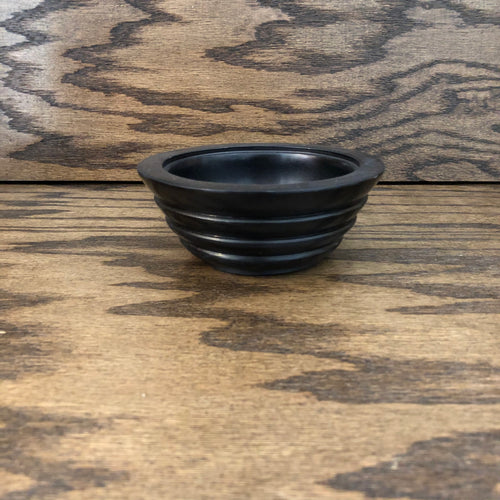 Soapstone bowl (black)