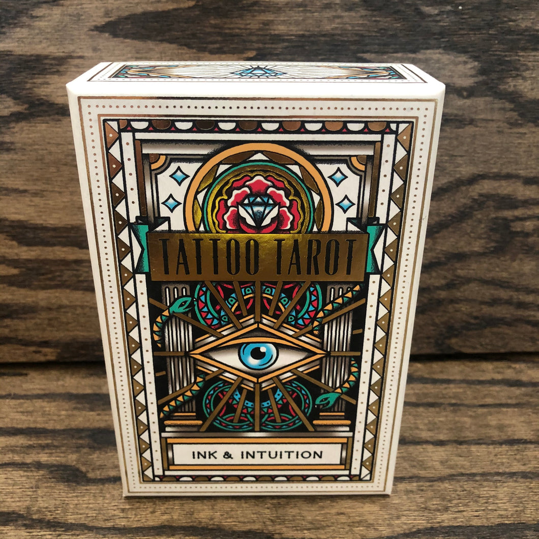 Ink and Intuition Tattoo Tarot Deck