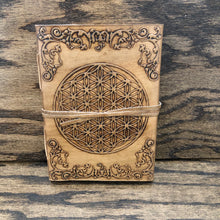 Leather Bound Journal (Flower of Life)