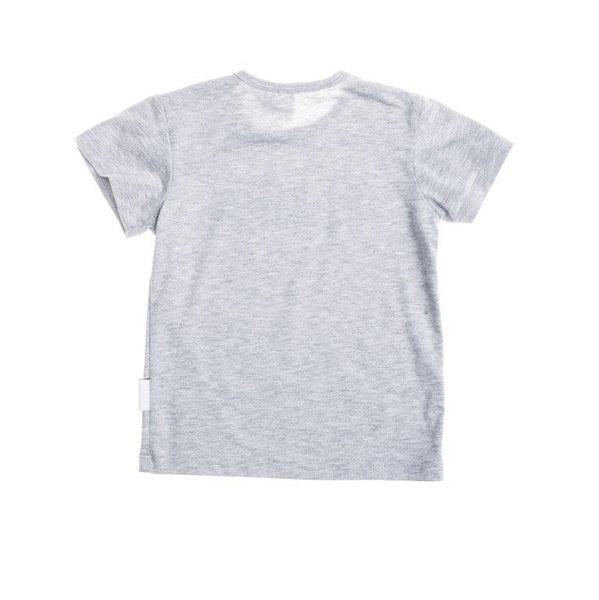 baby t-shirt in grey melange