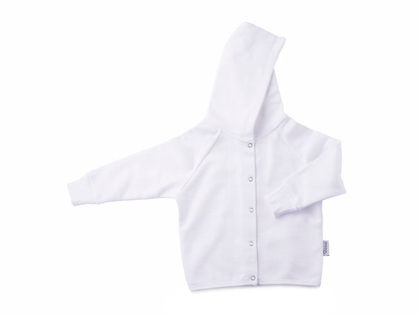 hoodies for babies in white