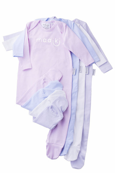 onesie with maaiki logo