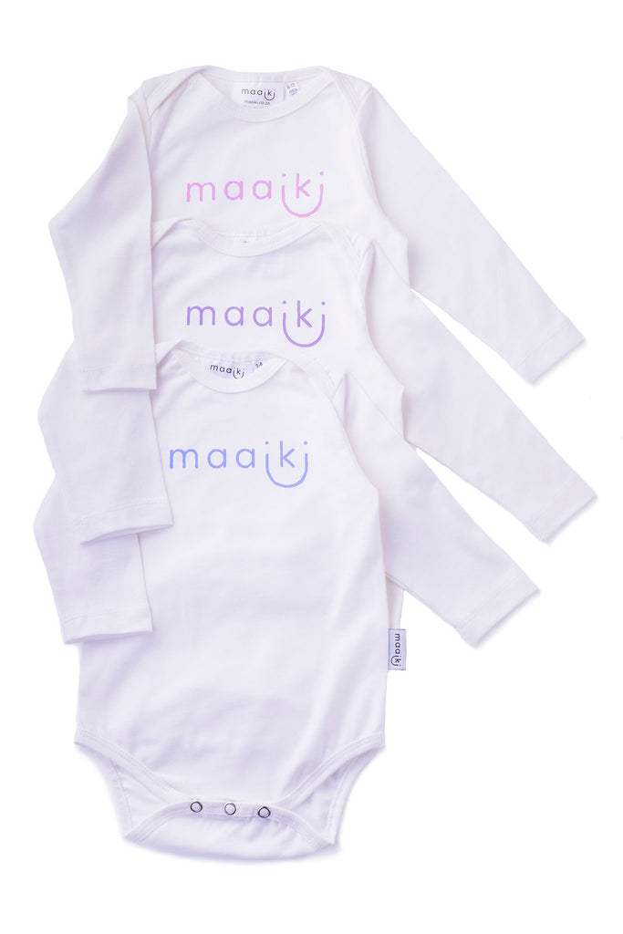 long sleeve vests with maaiki logo in different colours