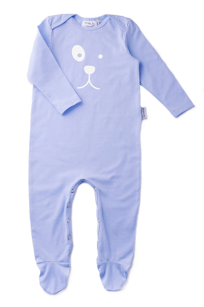 baby grow with dog print