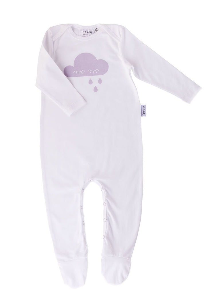 long onesie with cloud