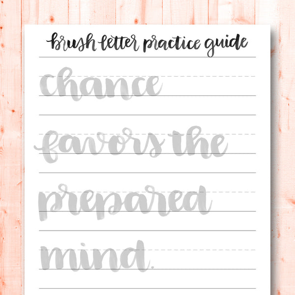 Quotes Gone Brushy: Louis Pasteur - Chance Favors the Prepared Mind