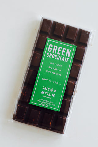 BARRA DE CHOCOLATE GREEN 70%