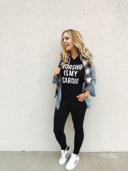 Worship is My Cardio - Crew