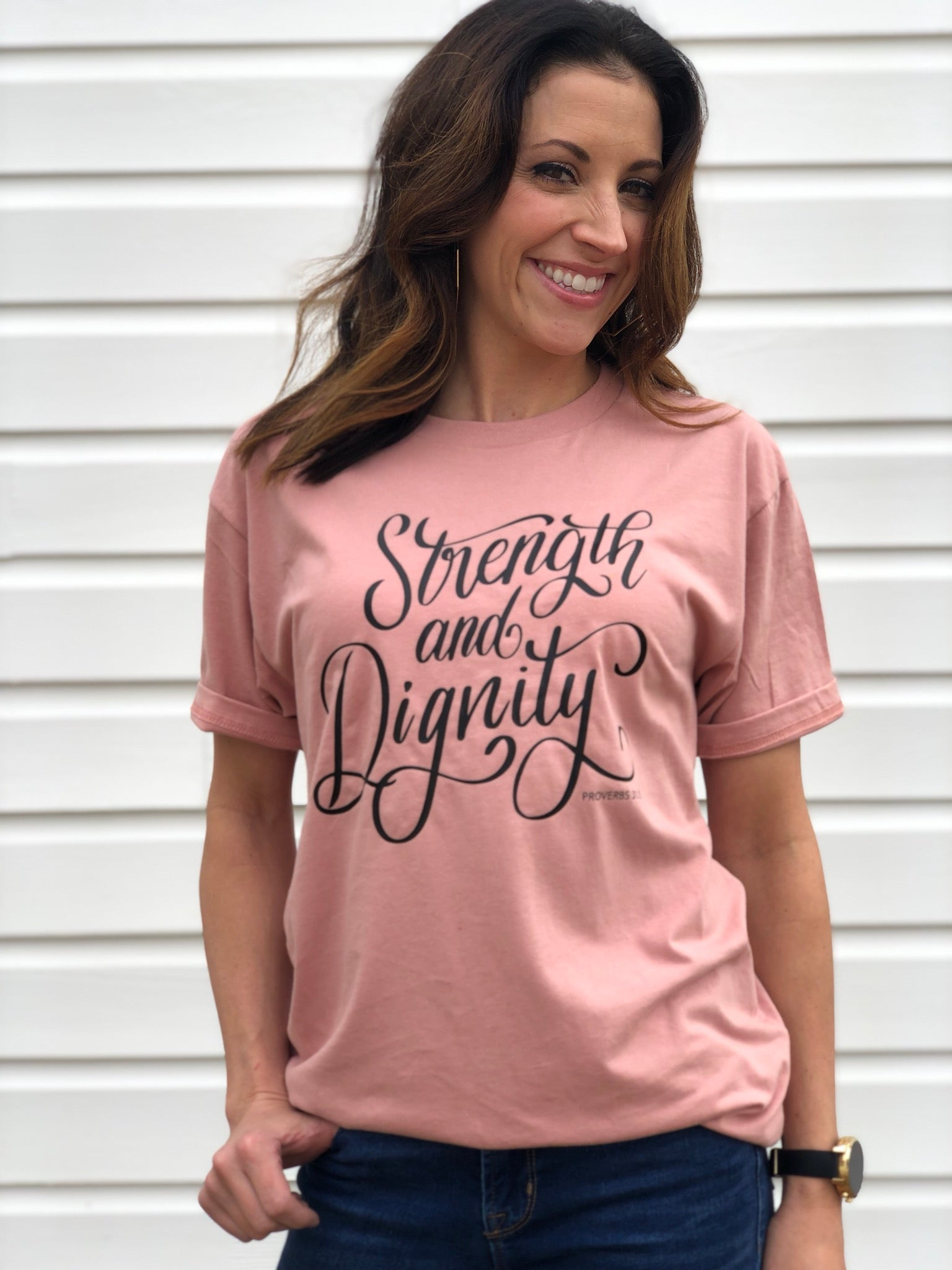 Strength & Dignity - Maroon or Mauve