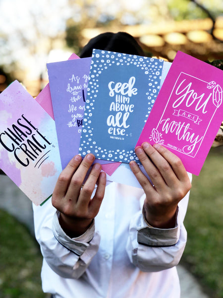 """*NEW*  -  Inspirational Note Cards"
