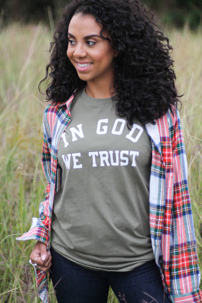 In God We Trust - Tee