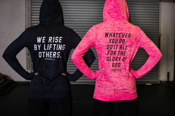 We Rise - Long Sleeve Hoody (Sold Out)