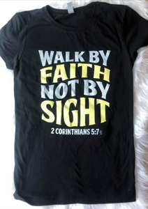 Walk By Faith Not By Sight YOUTH