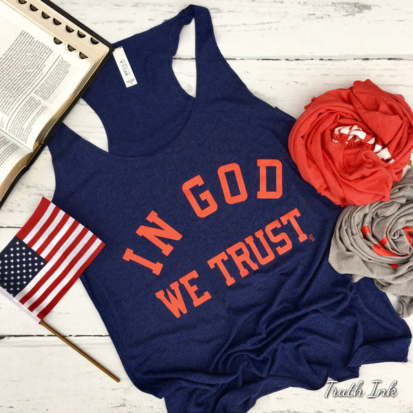 In God We Trust - Tank  (Sold Out)