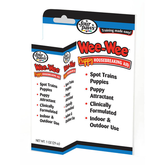 Holistic Pet Four Paws Wee-Wee Puppy Housebreaking Aid 1 oz