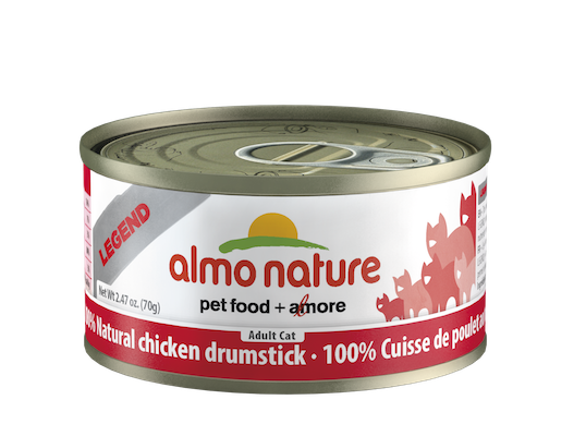 Holistic Cat Food Almo Chicken Drumstick 2.8 oz