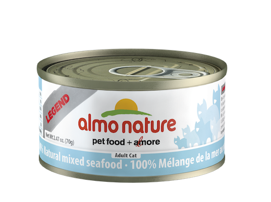 Holistic Cat Food Almo Mixed Seafood 2.8oz