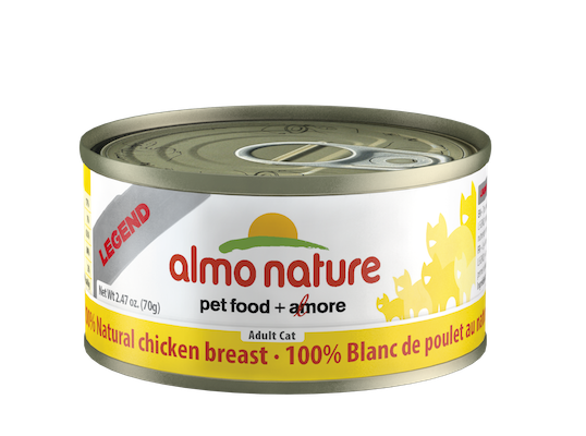 Holistic Cat Food Almo Chicken Breast 2.8oz