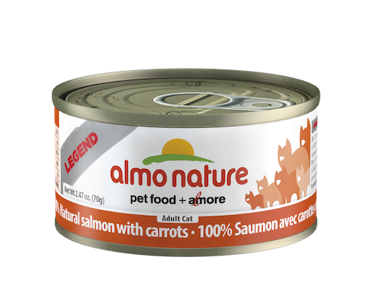 Holistic Cat Food Almo Salmon and Carrots 2.8oz