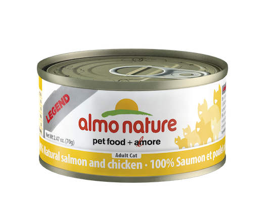 Holistic Cat Food Almo Natural Salmon and Chicken 2.8oz