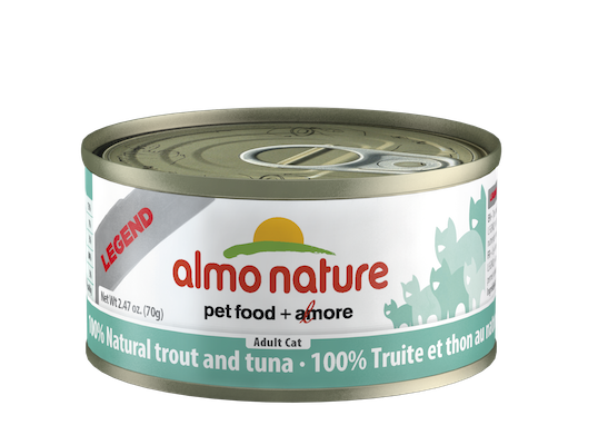 Holistic Cat Food Almo Natural Trout And Tuna 2.8oz
