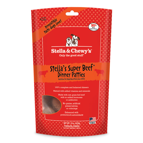 Stella and Chewy's Beef Freeze Dried 14 oz