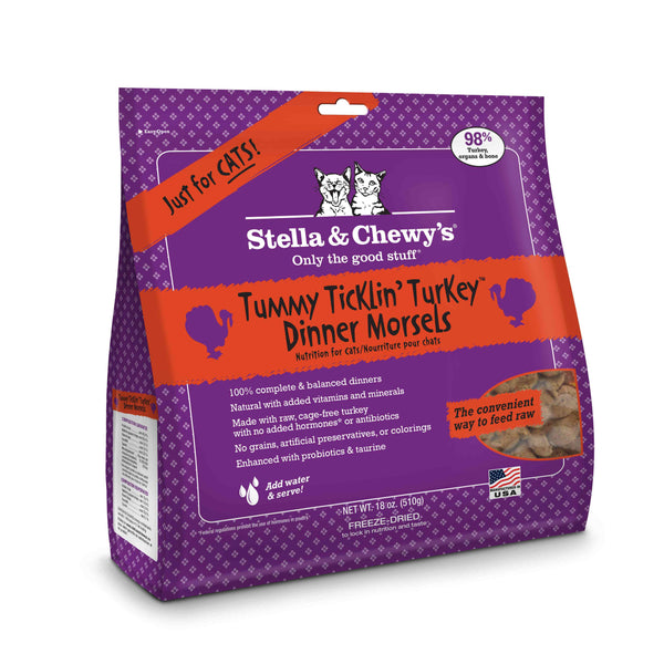 Stella and Chewy's Cat Turkey Mixer 18 oz