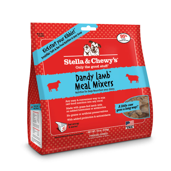 Stella and Chewy's Dandy Lamb Meal Mixers 18oz