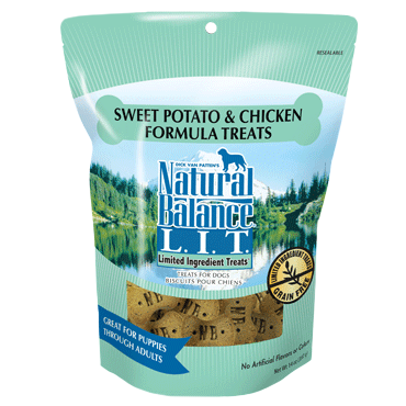 Holistic Dog Natural Balance LIT Treats Small Breed Sweet Potato & Chicken 8 oz