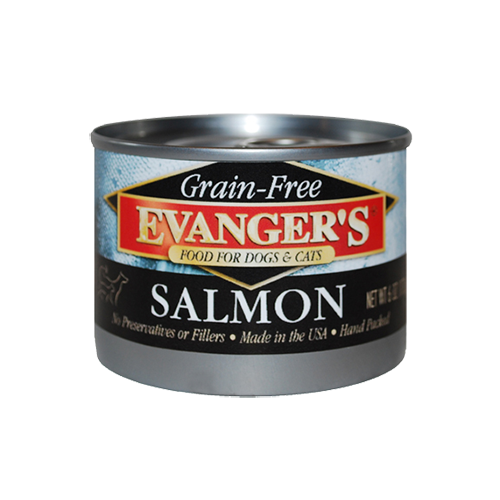 Holistic Cat and Dog Food Evanger's Grain Free Wild Salmon 6oz