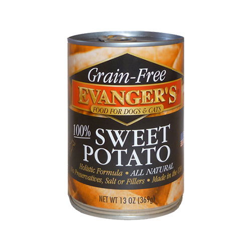Holistic Cat and Dog Food Evanger's 100% Grain Free Sweet Potato for 13oz